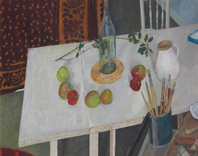 Picture of Still Life With Bottle by Cathy Wilson