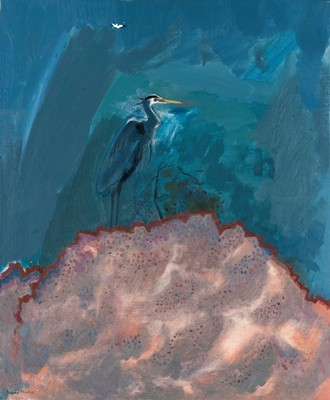 Picture of Great Blue Heron by David Michie