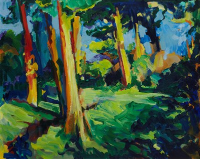 Picture of Summer Glade by Andrew Smith