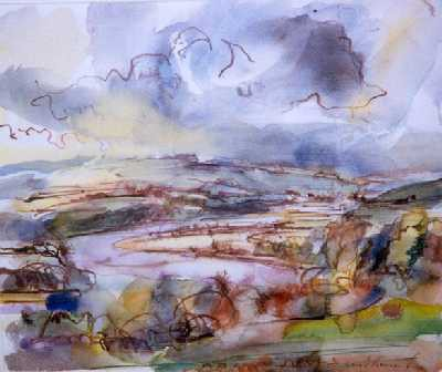 Picture of The Dee Above Kirkcudbright by David Kennard