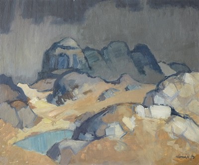 Picture of Highland Landscape by Denis Peploe