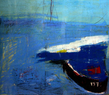 Picture of Boat on the Water by Esther Donaldson