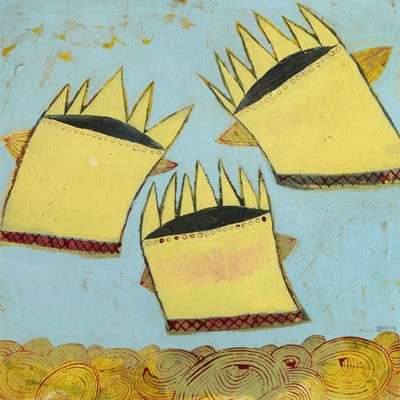 Picture of The Flying Crowns by Alice Shannon