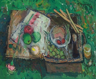 Picture of The Picnic Basket by Donald Manson