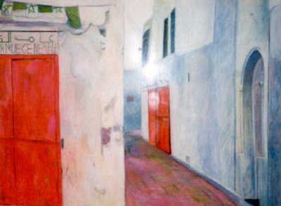 Picture of Kasbah, Rabat by Carolyn Burchell