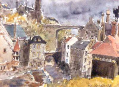 Picture of Dean Village by Frank White