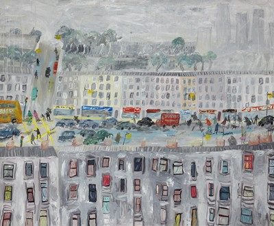 Picture of Glasgow Street Scene by Emily Learmont
