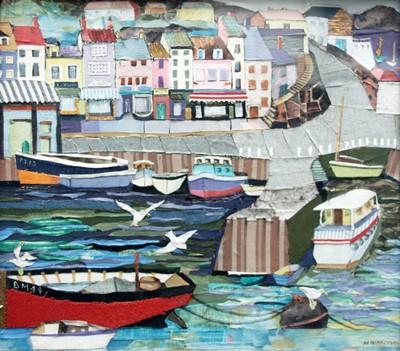 Picture of Brixham Harbour by Margaret Wardman