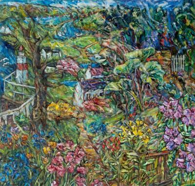 Picture of Secret Garden, Crinan by Vivien Alexander