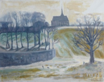 Picture of Winter Stubble by Mary Paton