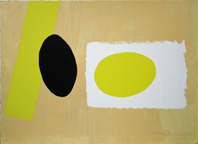 Picture of Orange and Lemon Playing Games II by Wilhelmina Barns-Graham