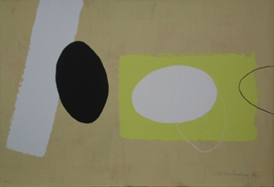 Picture of Orange and Lemon Playing Games I by Wilhelmina Barns-Graham