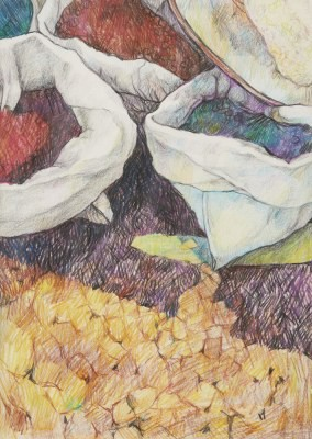 Picture of Sack Series No 3 by Duncan Pettigrew