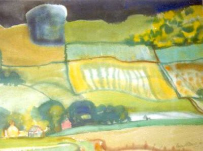 Picture of Angus Landscape from Lumley Den by Margaret Mitchell