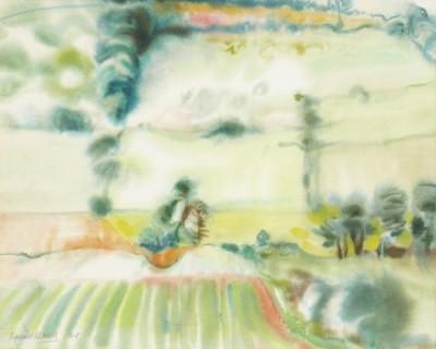 Picture of Baldovie Landscape, Angus by Margaret Mitchell