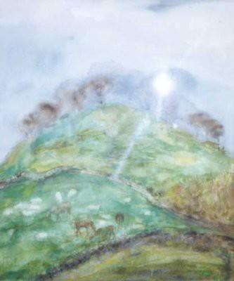 Picture of Hillock Near Callandar by Joan Renton