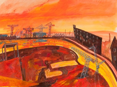 Picture of Work River I by Iain C. Robinson