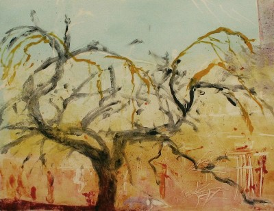 Picture of The Plannie Tree III by Kate Downie