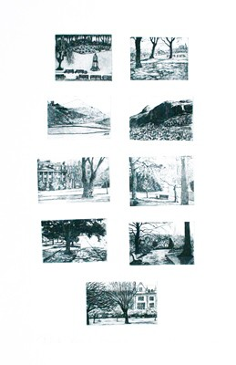 Picture of Park Bench Series by Cat Outram