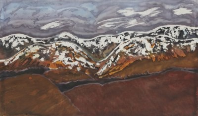 Picture of The Pentland Hills by Ulla Hipkin