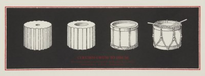 Picture of Column Drum to Drum by Ian Hamilton Finlay