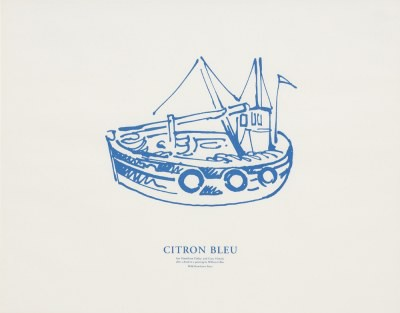 Picture of Citron Blue [after a detail in a painting by William Gillies] by Ian Hamilton Finlay