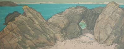 Picture of Hynish Rocks by Frances Walker