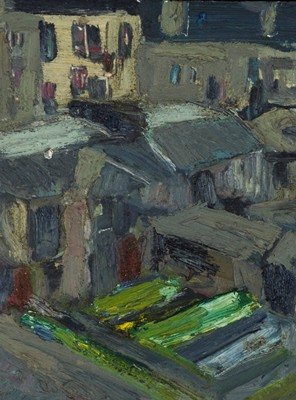 Picture of Hill Street by Geoffrey Uglow