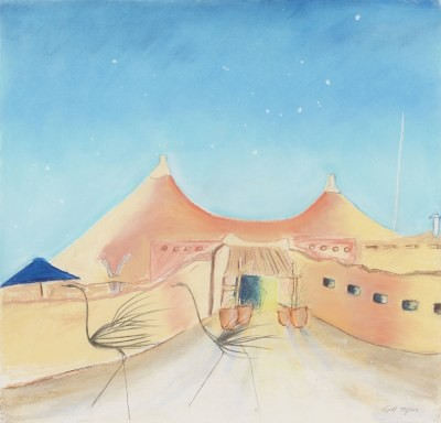 Picture of Desert Home by Gill Tyson