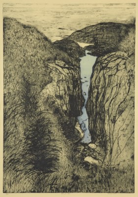 Picture of Rock Pool Cleft by Frances Walker