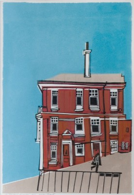 Picture of The Red House, Brighton by Willie Rodger