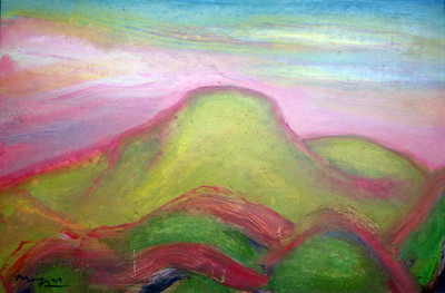 Picture of Spring Arthur's Seat by Alexander (Sandy) Moffat