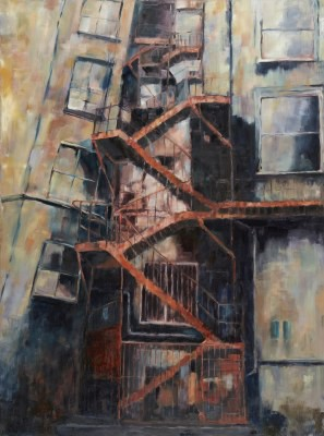 Picture of Tangled Latticework of Fire-escapes by John Colles