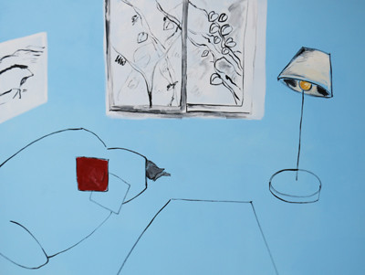 Picture of Blue Room II by Jia Lee