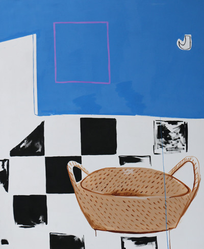 Picture of Checkered Floor by Louisa Livingstone