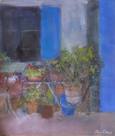 Picture of Exterior of a Tuscan Workshop by Ann Oram