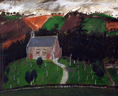 Picture of Maxton Church by Jane Hyslop