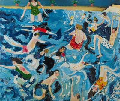 Picture of A Swimming Pool by Emily Learmont