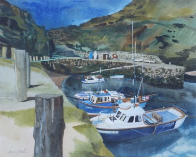 Picture of Cornish Harbour by Jack Firth