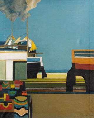 Picture of Boatyard by Roger Cameron