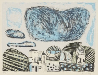 Picture of Homage to Picasso by A. Oftly