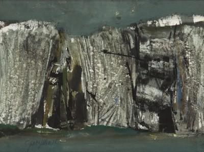 Picture of Cliff Study II by George Devlin