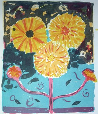 Picture of Marigolds by Elspeth Roberts