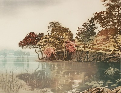 Picture of Reflections, Longrigg by Simon Bull