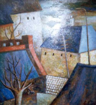 Picture of Urban Scene by James Gibson