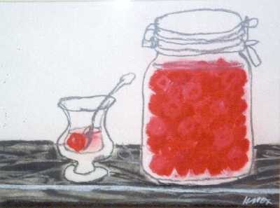Picture of Cherry Cordial by Jack Knox