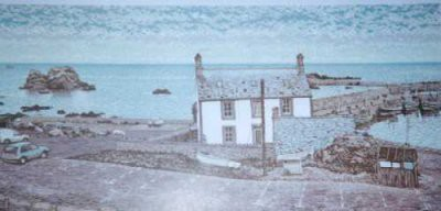 Picture of Harbour House, St. Abbs by Tom Davidson