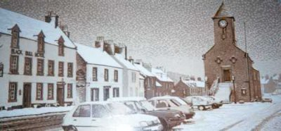 Picture of Lauder in Winter by Tom Davidson