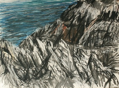 Picture of Limestone, Balnakeil by Donald White