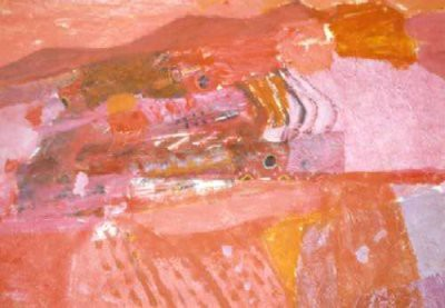 Picture of Red Landscape by Wilma Dunbar